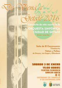 Cartel Concierto año nuevo 2016